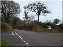 SX2773 : Crossroads at Treovis Cross by David Smith