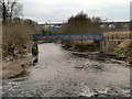 SD7907 : Footbridge Across the Irwell by David Dixon