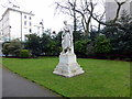 TQ2977 : William Huskisson Statue in Pimlico Gardens by PAUL FARMER
