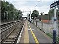SJ7869 : Goostrey railway station by Nigel Thompson
