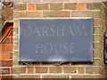 TM4269 : Darsham House sign by Adrian Cable
