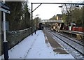 SJ9993 : Broadbottom railway station by Nigel Thompson