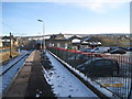 SK0394 : Glossop railway station by Nigel Thompson