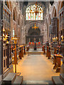 SJ8398 : The Quire, Manchester Cathedral by David Dixon