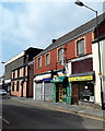 SS9079 : Two Market Street hairdressers, Bridgend by John Grayson