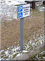 TM4762 : Disabled Badge Holders sign by Adrian Cable