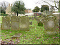 TL1097 : Water Newton Churchyard by Alan Murray-Rust