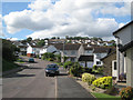 SX9373 : South end of Moor View Drive, Teignmouth by Robin Stott