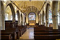 TQ8209 : Interior, St Clement's church, Hastings by Julian P Guffogg