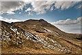 NR3873 : Giùr-bheinn from the north-east by Becky Williamson