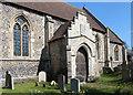 TL7066 : St Mary, Kentford - Porch by John Salmon