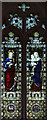 TL7066 : St Mary, Kentford - Stained glass window by John Salmon