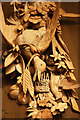 SK9239 : Grinling Gibbons carving by Richard Croft