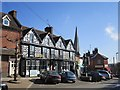SO6775 : Talbot Hotel, Cleobury Mortimer by Richard Webb