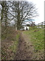 SK3023 : The bridleway above Watery Lane by Richard Law
