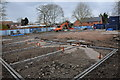 SO9445 : Building site on Lower Priest Lane, Pershore by Philip Halling