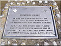 TM4767 : Dunwich Heath Plaque by Adrian Cable