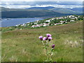 NN0972 : Fort William: view over the town from Blarmachfoldach by Chris Downer