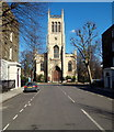TQ3182 : St Mark's Church, Islington, London, EC1 by David Hallam-Jones