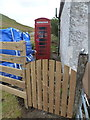 NG4340 : Glenmore: the telephone box by Chris Downer
