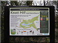 SD9601 : Knott Hill information board by John Topping