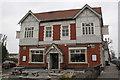 ST6376 : Cross Hands public house by Roger Templeman