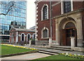 TQ3381 : St Botolph's Garden, London, EC2 by David Hallam-Jones