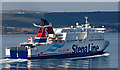 NX0570 : Stena Superfast VIII leaving Loch Ryan Port by The Carlisle Kid
