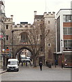 TQ3182 : St John's Gate, London, EC1 by David Hallam-Jones