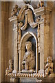 TR1557 : Memorial to Anne Milles, Canterbury Cathedral by Julian P Guffogg