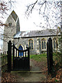 TM3186 : St Mary's church, Flixton by Evelyn Simak