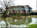 TQ4696 : River Roding and Roding Hall, Abridge by Robin Webster