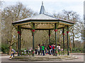 TQ2777 : Bandstand, Battersea Park by David P Howard