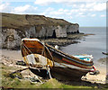 TA2372 : Fishing coble, Flamborough North Landing : Week 16