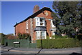 SK7420 : House at junction of Welby Lane and Garden Lane by Roger Templeman