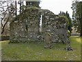 NS2489 : Ruins of Faslane Chapel by Lairich Rig