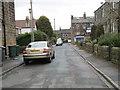 SE1643 : Walker Road - Dick's Garth Road by Betty Longbottom