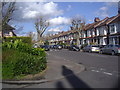 TQ3093 : Oakfield Road from the corner of Norman Way by David Howard