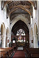 TF4418 : Interior, St Mary's church, Tydd St Mary by J.Hannan-Briggs