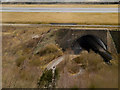 SJ8082 : River Bollin Tunnel under Manchester Airport Runway by David Dixon
