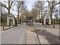 TQ2877 : Chelsea Gate, Battersea Park by David P Howard