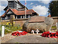 SJ7084 : War Memorial and Parish Church, High Legh by David Dixon