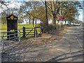 SJ7281 : Chester Road, AA Box 372 at Mere Corner by David Dixon