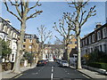 TQ2379 : Amor Road, Hammersmith by David Anstiss