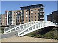 TM0124 : Bridge at Hythe Quay : Week 17