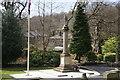 SD9905 : War memorial at Uppermill by Bill Boaden