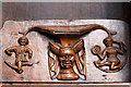 SO5174 : St Laurence's church, Ludlow - misericord (3) by Mike Searle