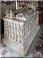 SO7181 : St John the Baptist church, Kinlet - tomb-chest of Sir Humphrey Blount & wife by Mike Searle