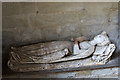 SO7181 : St John the Baptist church, Kinlet - effigy of Lady Lychefield by Mike Searle