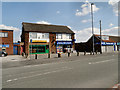 SJ5287 : Moorfield Road Shops by David Dixon
